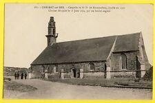cpa Bretagne 29 - CAMARET sur MER le CLOCHER décapité par un BOULET anglais