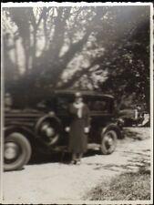 PHOTO VEHICULE ANCIEN AUTOMOBILE OLD CAR NON IDENTIFIE