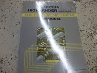 1996 TOYOTA PREVIA ELECTRICAL WIRING DIAGRAM SERVICE MANUAL RX493