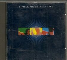 CD ALBUM 12 TITRES--SIMPLE MINDS--REAL LIFE--1991