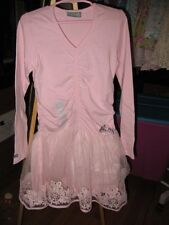NWT New Naartjie Organza Skirted Dress Pink China Size 7