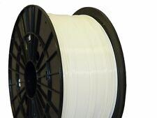 Filament PM ABS 1,75 mm Bobina da 1 kg Colore Bianco Filamenti per Stampa 3D