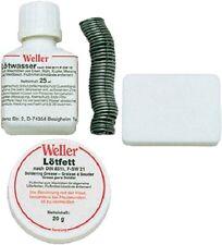 Weller Bastler-Weichlötsortiment WLS 20-65 Lötfett Lötwasser Salmiak Lötdraht