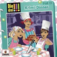 DIE DREI !!! - 051/KRIMI-DINNER   CD NEU