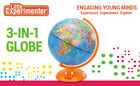 Little Experimenter Illuminated World Globe for Kids with Stand NEW
