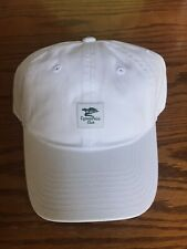 New White Cypress Point Club Men's Golf Hat - No Reserve!!!