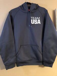 TEAM APPAREL USA OLYMPIC HOODIE SWEATSHIRT MEN'S Size Small