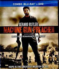 NEW BLU-RAY/DVD COMBO // Machine Gun Preacher // Kathy Baker, Gerard Butler,