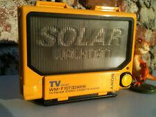 Sony WM-F107 Solar Personal Radio Cassette Player Walkman Kassettenspieler Japan