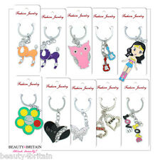 40 x KEYRING SET MANY DIFFERENT DESIGNS INDIVIDUALLY WRAPPED WHOLESALE UK