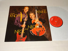 MARK KNOPFLER & CHET ATKINS - NECK AND NECK / HOLLAND-VINYL-LP 1990 (MINT-)