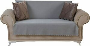 Chiara Rose Couch Covers for Dogs Sofa Cushion Slipcover SMOKE Color