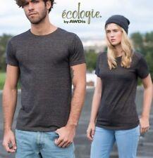 Unisex T-Shirt Tulum meliert Öko Eco BIO Rundhals Gr.S-XXL in 4 Farben EA003