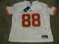 61249a4d09d Tony Gonzalez Kansas City Chiefs Women s White XL 2008 Reebok Replica Jersey