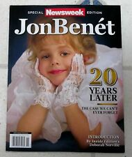 JONBENET 20 Years LATER Newsweek Special Edition 98 Pages COLD CASE Tragic Story