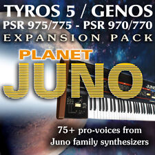 Planet JUNO Expansion Pack for Yamaha Arrangers (Genos, Tyros 5, PSR 975 etc)