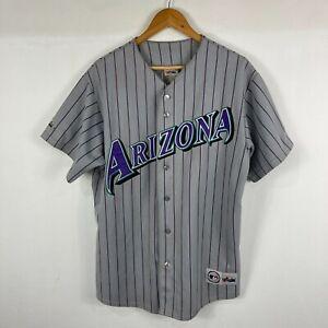 Vintage 90s Arizona Diamondback MLB Majestic Jersey Size Large
