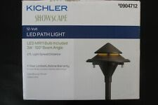 NEW Kichler 3-Watt Olde Bronze Low Voltage Hardwired LED Path Light