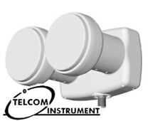 Illuminatore LNB Monoblocco Dual Feed per satellite Astra e Hotbird Diseqc 0.1db