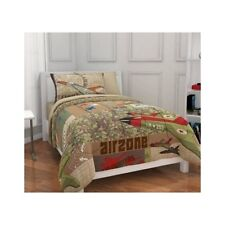 Bedding Sets Twin For Boys Kids Comforter Camo Bed In A Bag Airplane Military 4P