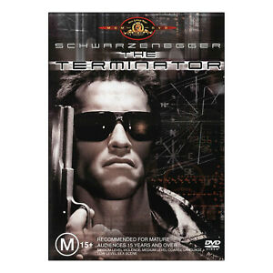 The Terminator DVD New Region 4 Aust. - Arnold Schwarzenegger, Linda Hamilton
