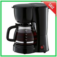 5 Cup Coffee Maker with Removable Filter Basket, Easy Pour, Ergonomic Handle NEW