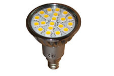 E14 - 20  LED SMD  DAY WHITE REPLACES 50/60 W HALOGEN BULBS 24 Months Warranty