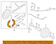 NISSAN OEM 12-15 Versa Brake-Shoes D40603VA0B