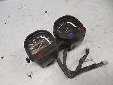 yamaha xv750 virago 750 speedometer dash panel gauges cluster meters 1982 1981