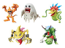 Bandai Digimon Digital Monster Figure 7 Gashapon Etemon Bakemon set 5 pcs