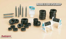 Auhagen 42590 Tyres with stand and gas cylinders - 1:87 Scale H0