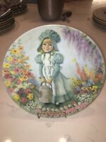Bradford Exchange Mary Mary Plate 1st Issue  Mother Goose Nursery Rhyme Series