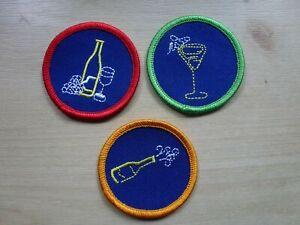 Scouting Guiding Spoof Badges Wine/beer camp Blanket badges