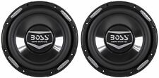 "(2) Boss Audio Armor AR10D 10"" 4400 Watt Dual 4 Ohm Subwoofers Car Audio Subs"