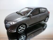 MONDO MOTORS RENAULT MEGANE - GREY METALLIC 1:43 - EXCELLENT CONDITION - 34