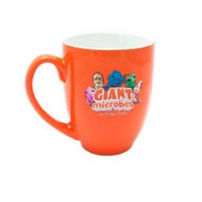 The Original Giant Microbes Coffee Tea Ceramic Mug Officially Licensed