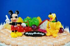 Cake Topper Decoration Disney Mickey Mouse Pluto Figure K1214 G N