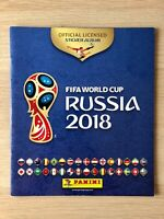 FIFA World Cup Russia 2018 Official Licensed STICKER ALBUM by Panini EMPTY VGC