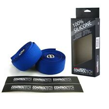 CONTROLTECH Silicone Road Bike Bar Tape , Blue