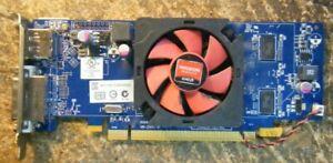 Dell 02FVV6 AMD Radeon HD 7470 PCI-e DVI DisplayPort Video Graphics Card LP