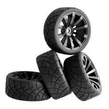 Rc 1/10 Touring Car Speed Grip Rubber Tires w/Sponge 26mm&Wheel (4) Rim601-6090