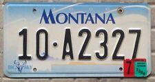 TARGA USA auto MONTANA Big Sky SOLO TARGHE AMERICANE ORIGINALI Nummernschild