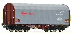 """Roco H0 76447 Schiebeplanenwagen """"Bauart Shimms"""" der ERMEWA - NEU + OVP"""