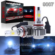 120W LED Headlight KIT Bulbs Lamp Light 10000K Light Blue High Low Beam 9007 HB5