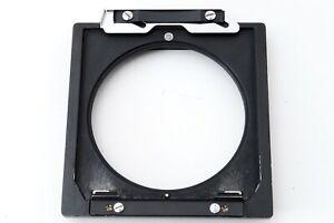 """EXC +5"" Toyo 110x110mm To Linhof Technika 96x99mm Lens Board Adapter Japan 8633"