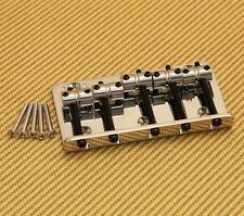 005-3309-000 Genuine Fender Chrome V 5-String Standard Series Bass Bridge