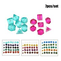 Multi-shape Dice Set Board Playing Game Gaming Drinking Dice Entertainment Tool