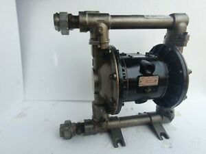 "Graco D74311 Husky 1040 Diaphragm Pump 1"" AODD pump Stainless Steel"