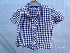 George Checked 100% Cotton Shirts (0-24 Months) for Boys