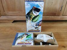 Sega Dreamcast Sega Bass Fishing Rare Big Box Version With Reel